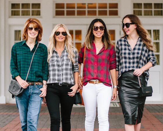 CHIC AT EVERY AGE- HOLIDAY PLAID