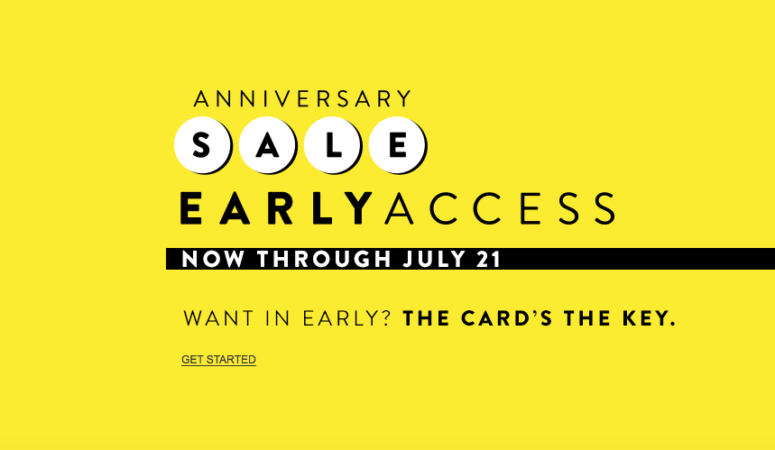 NORDSTROM ANNIVERSARY SALE…IT'S ON!