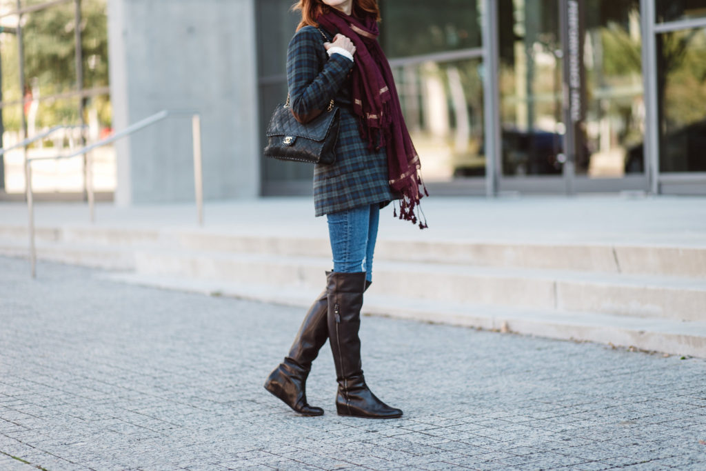 OTK BOOTS- SCARVES- CHIC AT EVERY AGE