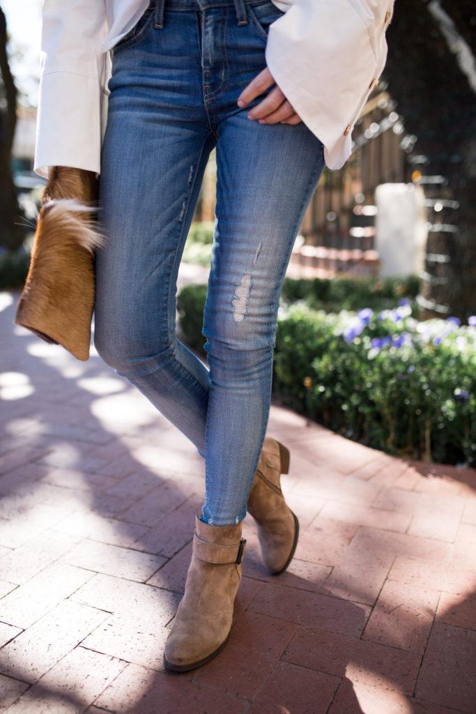 White blouse- White bell sleeve blouse- Dallas fashion blogger