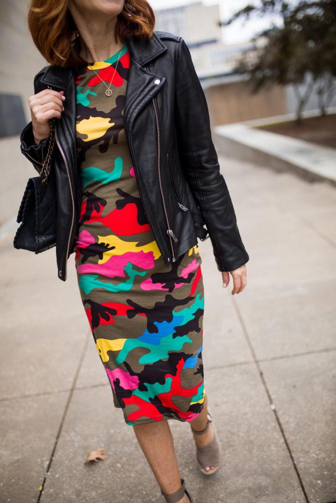 Awe Inspired Jewelry- Awe Survivors- Shein Camo Dress