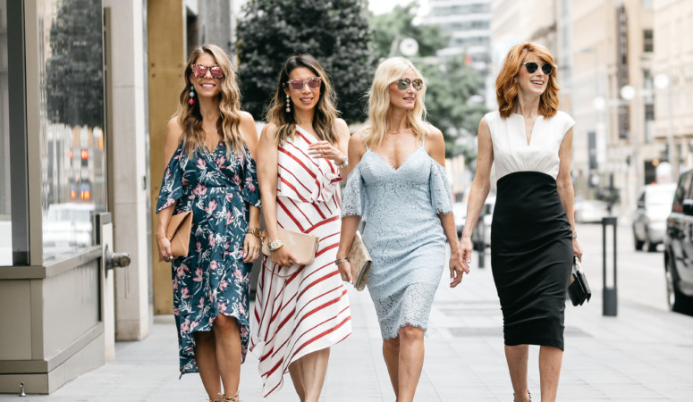 CHIC AT EVERY AGE// WHAT TO WEAR TO A SUMMER WEDDING