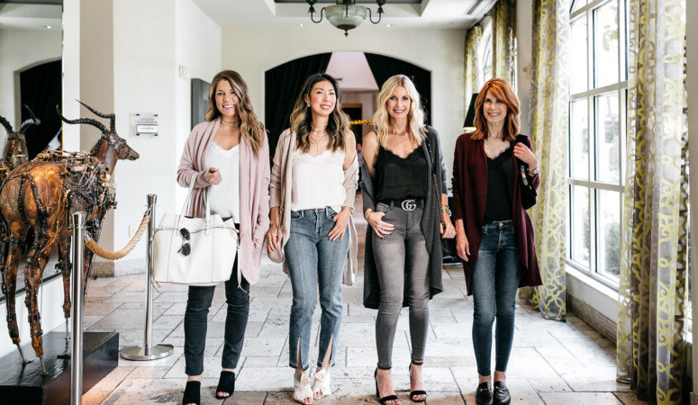 HOTEL ZAZA SPA DAY + COZY CARDIGANS WITH CHIC AT EVERY AGE