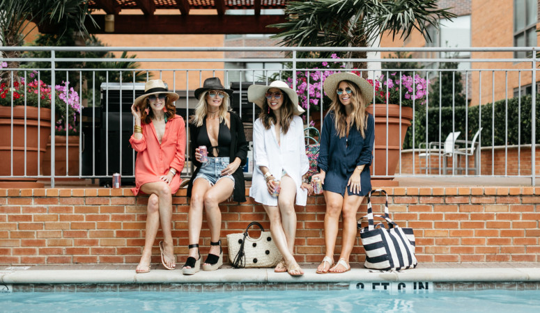 CHIC AT EVERY AGE // BATHING SUIT COVER-UP