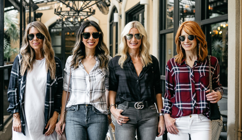 CHIC AT EVERY AGE- PLAID SHIRTS