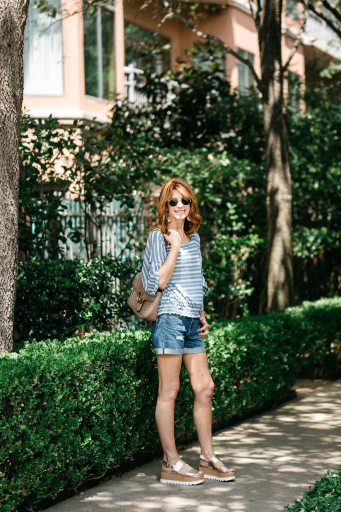 Chic at Every Age- Cut Off Shorts-How to Wear Cutoff Shorts at Every Age