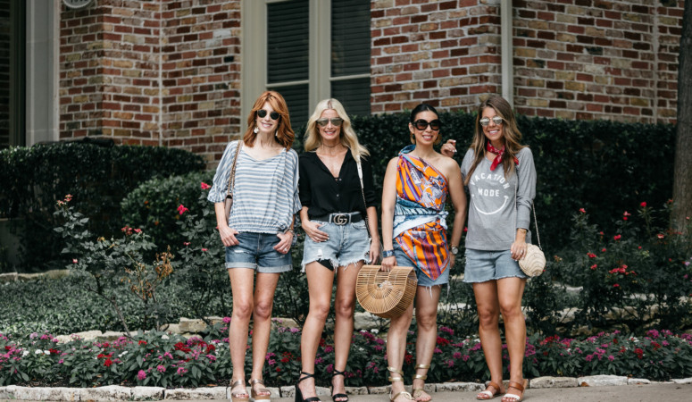 CHIC AT EVERY AGE- CUTOFF SHORTS