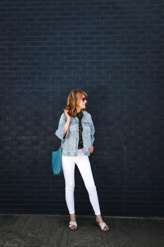 Bell Sleeve Denim Jacket- Light Denim Jacket- Madewell Denim Jacket