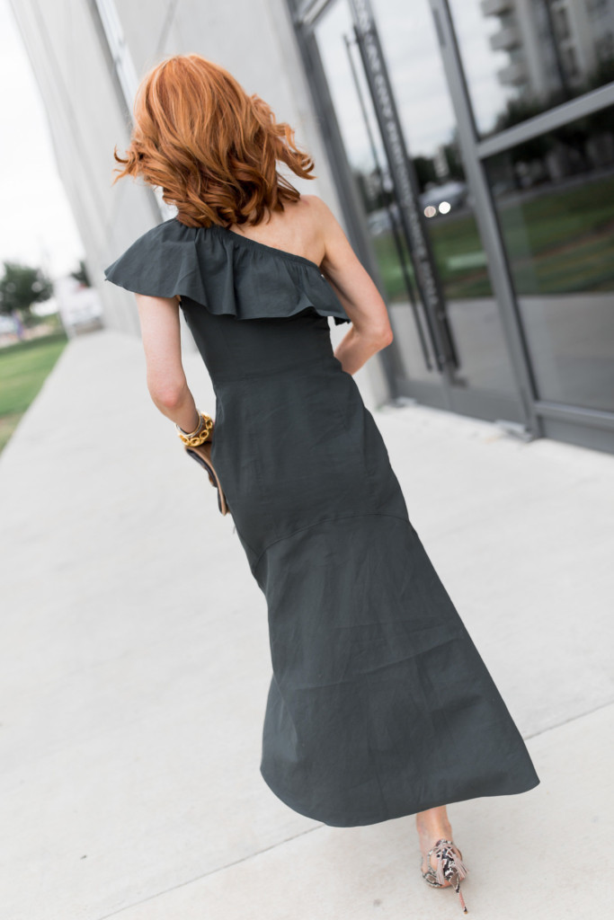 Julie Vos Jewelry- A.L.C. Evangeline Dress-Gold Jewelry- Semi-Precious