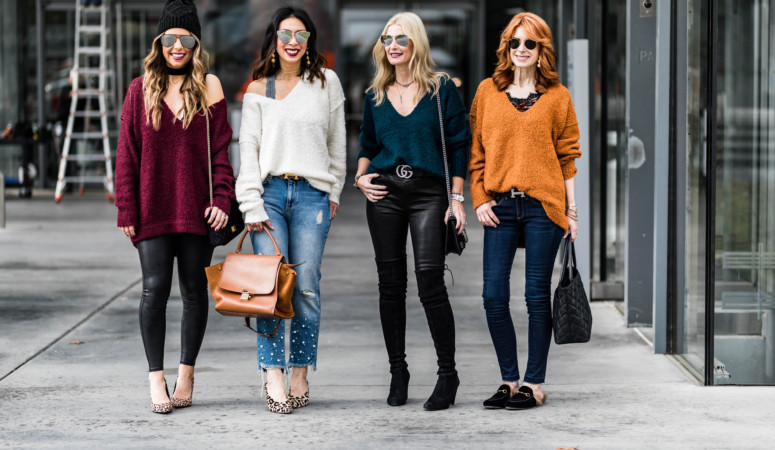 CHIC AT EVERY AGE // FEATURING OVERSIZED SWEATER