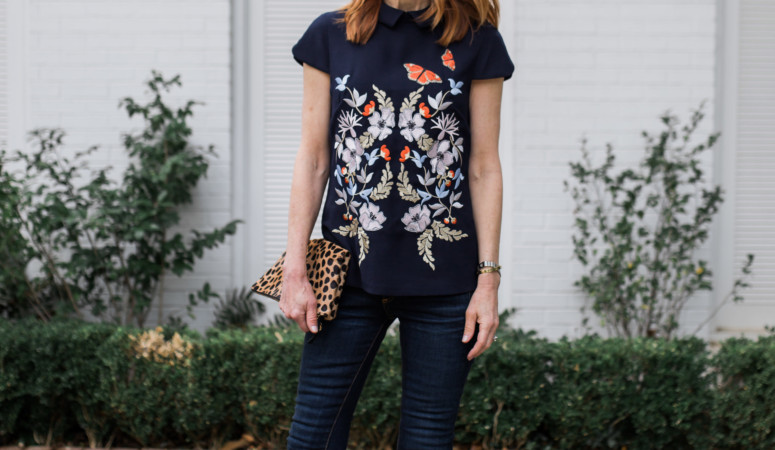 KYOTO GARDEN BLOUSE // PLUS A $1,000 NORDSTROM GIFTCARD GIVEAWAY