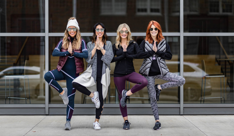 CHIC AT EVERY AGE// EXERCISE GEAR
