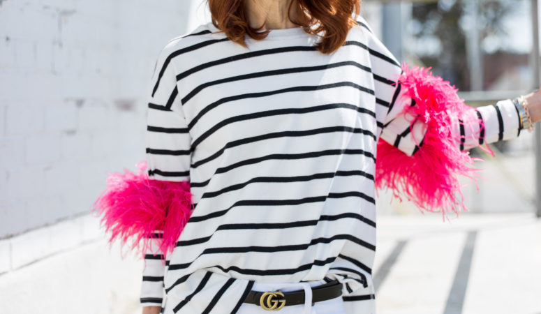 FROU FROU STRIPES AND A PRETTY MEDICAL ID BRACELET