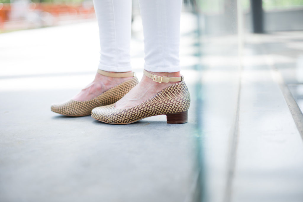 Adrian Allen Snake Print Shoes on the Middle Page Blog