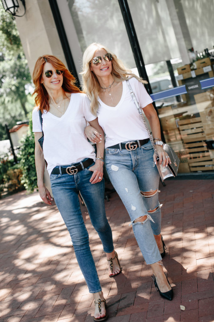 A Necessary White Tee and the Best Gift for your BFF