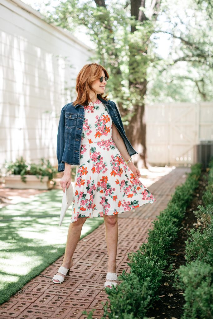 The Happiest Floral Dress from Ann Taylor