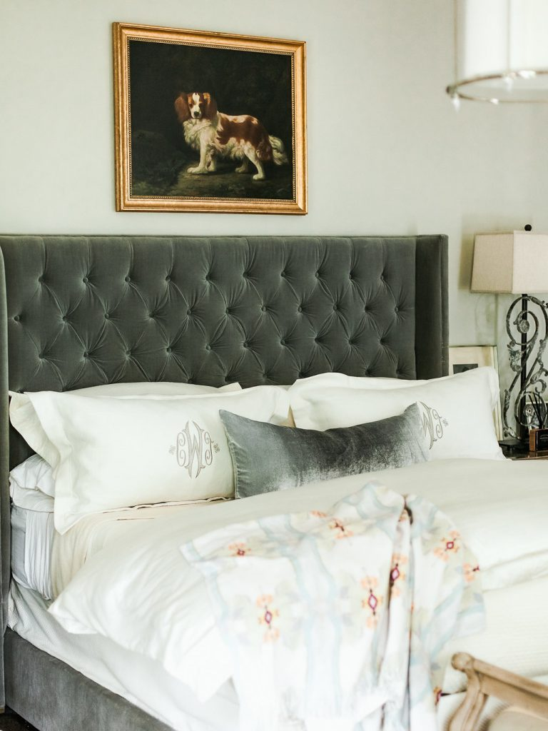 My gorgeous bed makeover with Peacock Alley