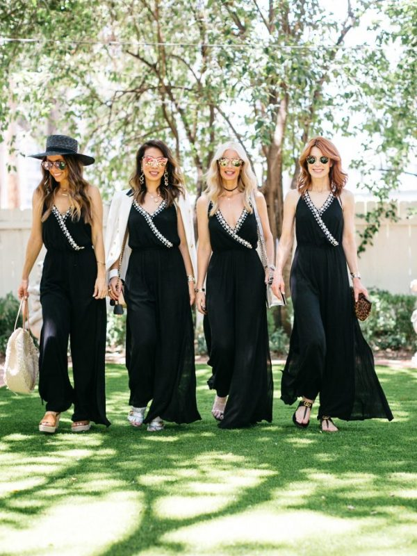 Chic at Every Age Featuring Black Jumpsuit   The Middle Page