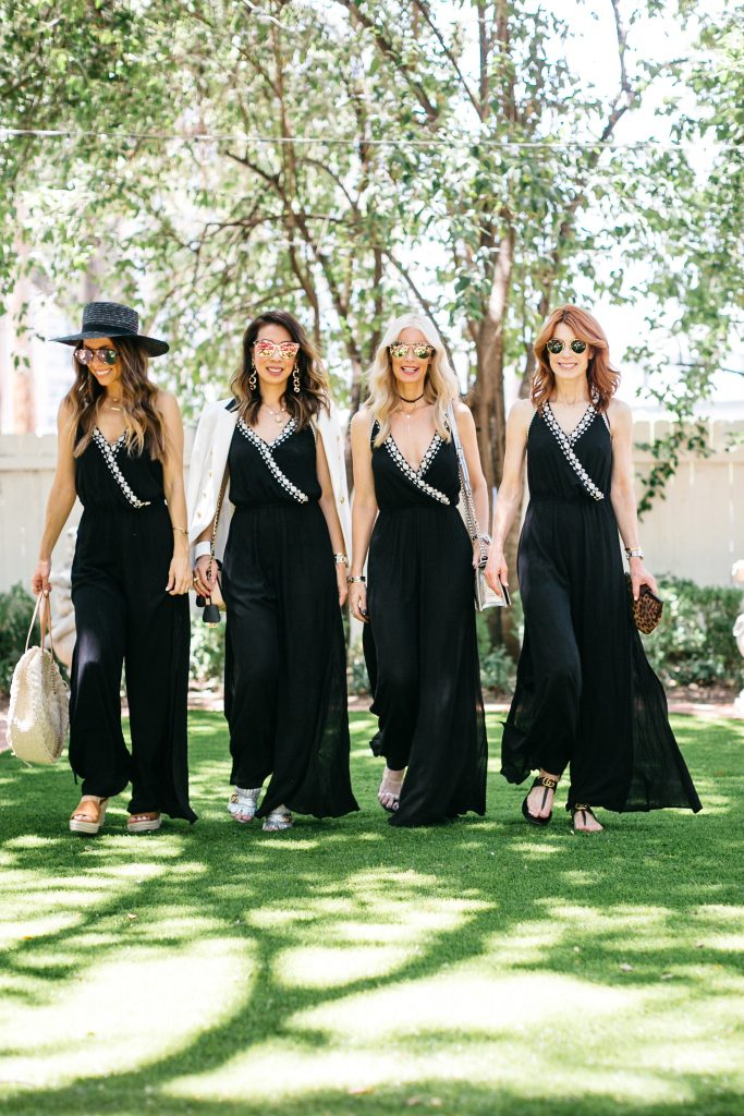 Chic at Every Age Featuring Black Jumpsuit | The Middle Page