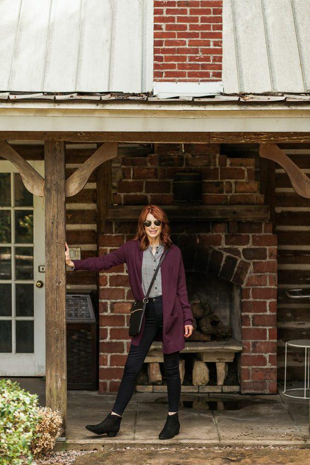 Burgundy Sweater from Marks & Spencer