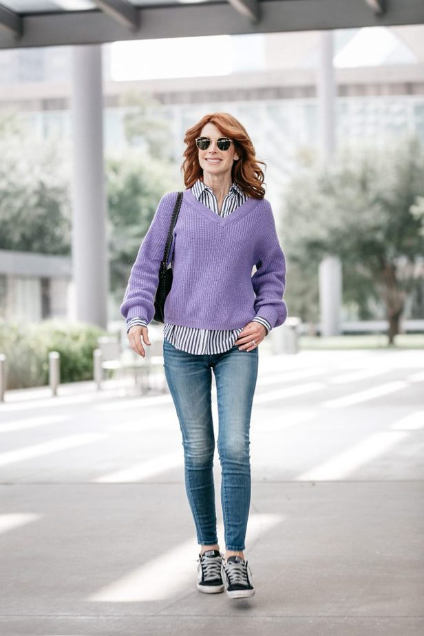 Easy Sweater | The Middle Page