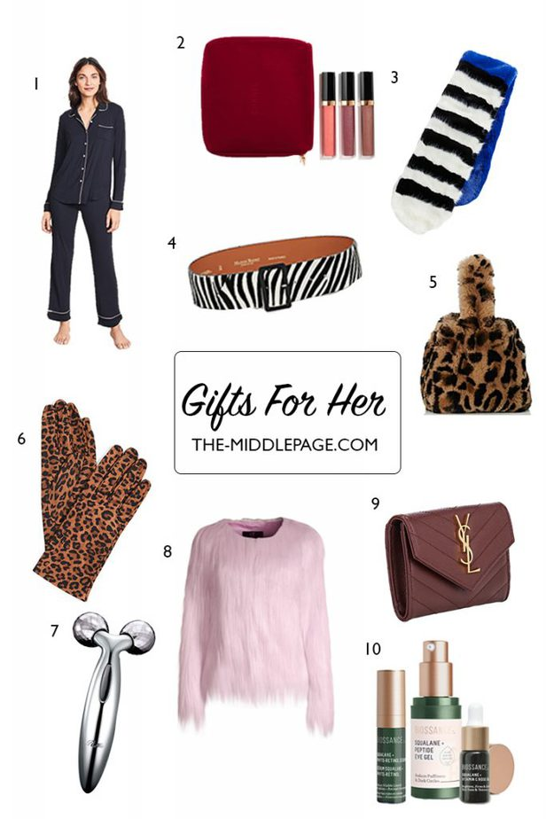 Gifts For Her - The Middle Page