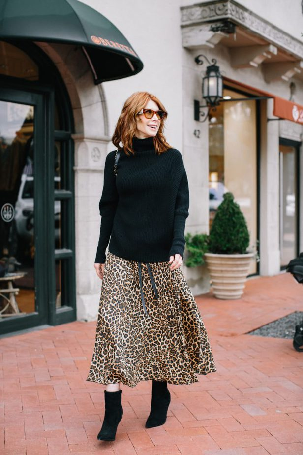 My favorite trend for the fall has to be leopard print