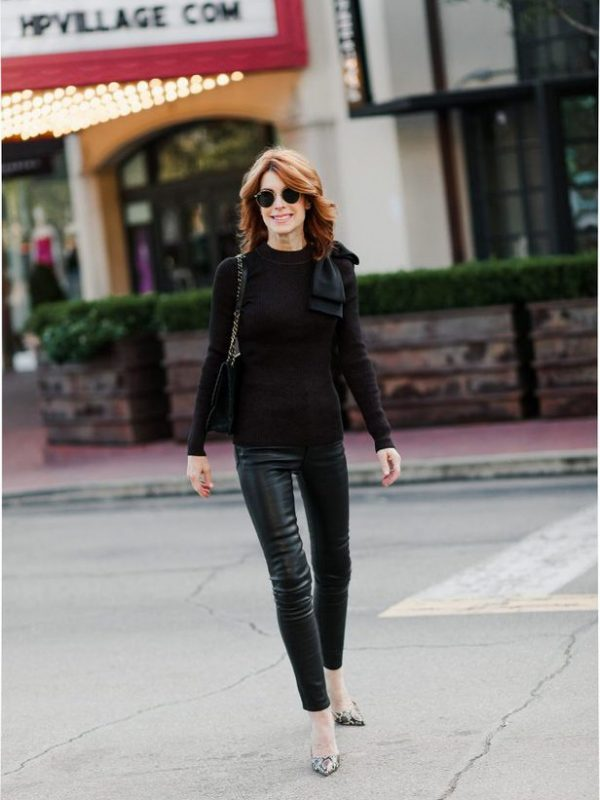 Why I Think Leather Pants Are A Great Investment - The Middle Page