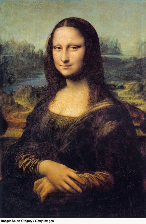 Mona Lisa - The Middle Page