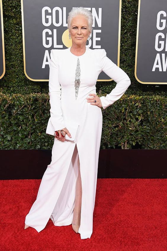 I thought Jamie Lee Curtis looked fierce as could be!