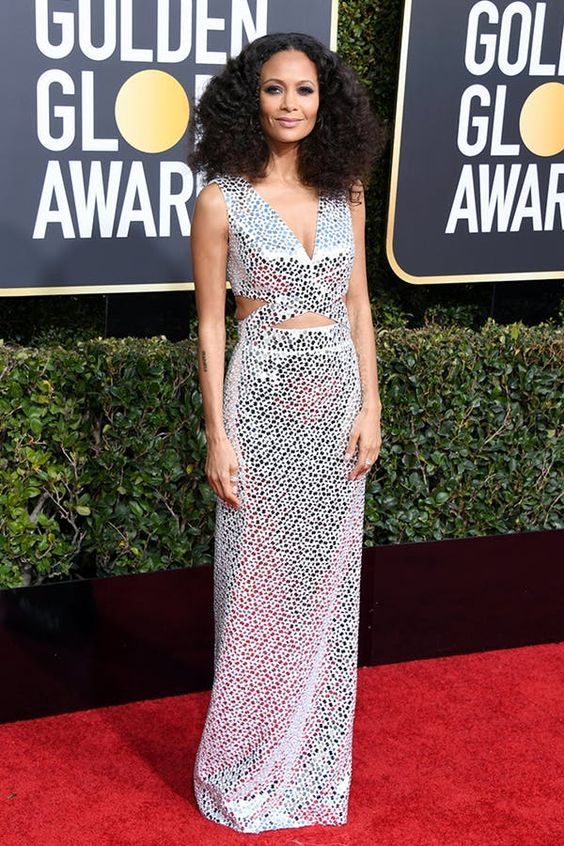 I think Thandie Newton is just amazing in this dress.