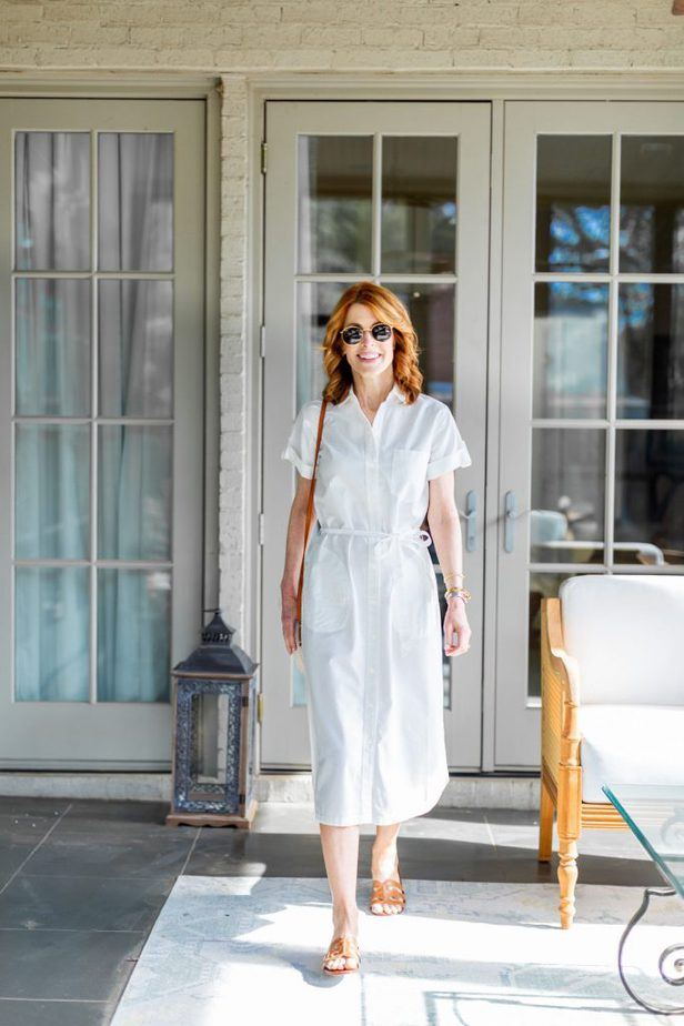 A White Shirtdress Can Be Worn So Many Ways