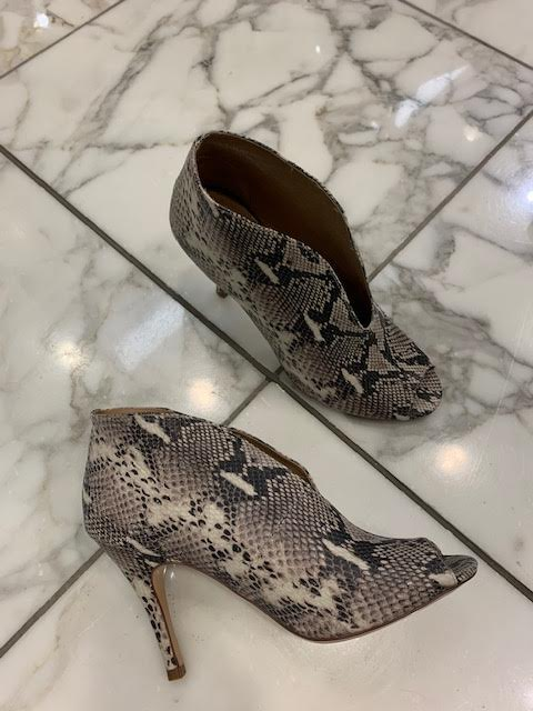 Pretty snakeskin shoe/boot (comes in several colors)