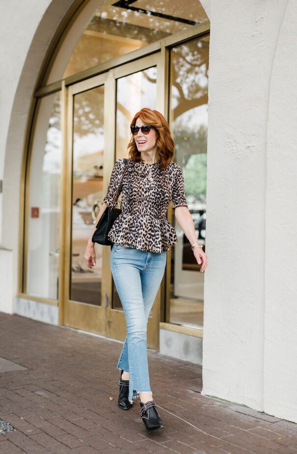 Animal Prints Are Still Strong For Fall