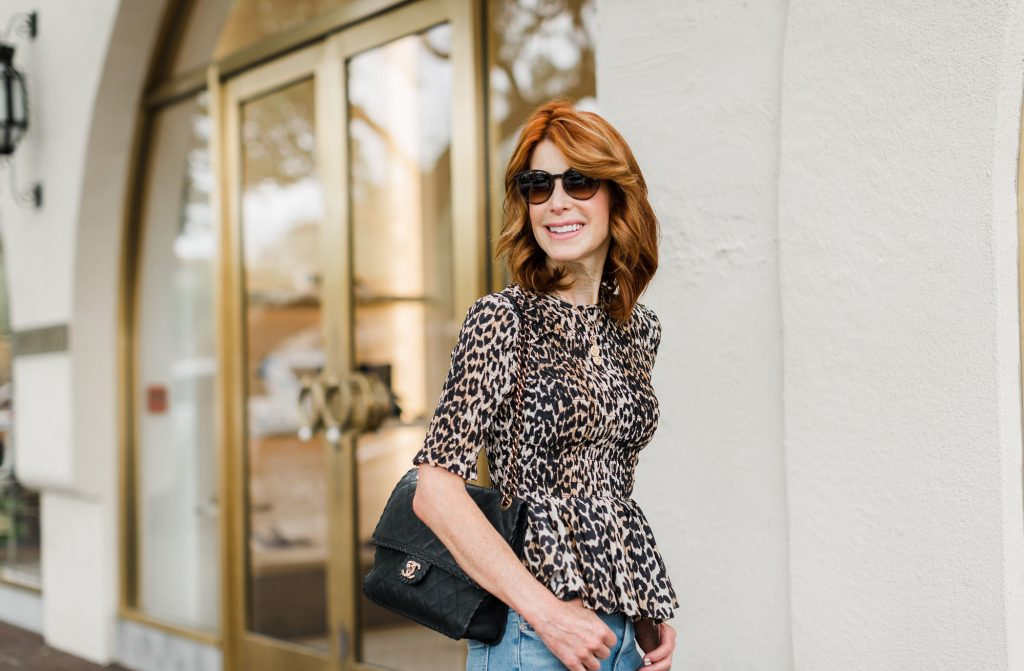 Favorites With Nordstrom - Animal Print Top