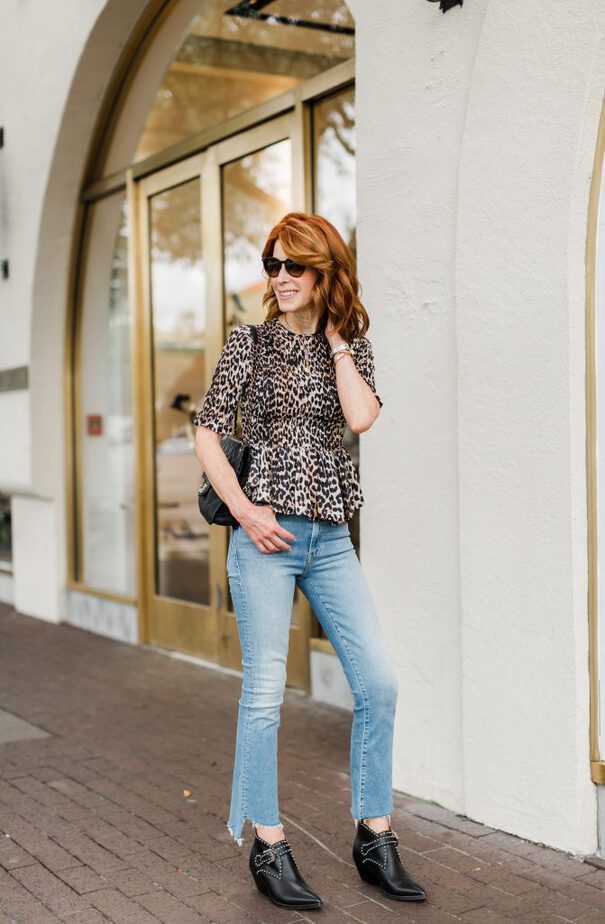 Favorites With Nordstrom - Animal Print and Jeans