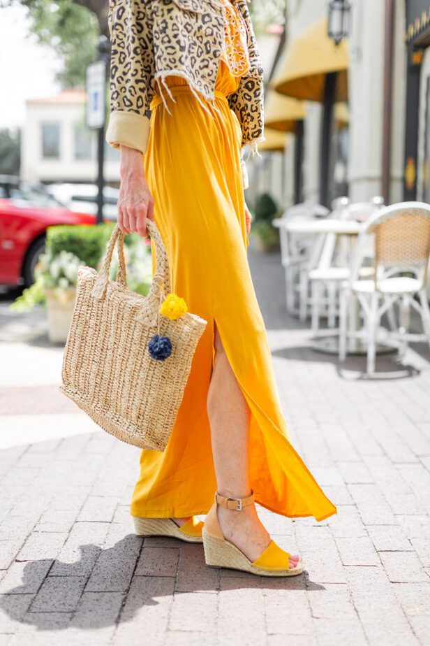 Golden Yellow wedges