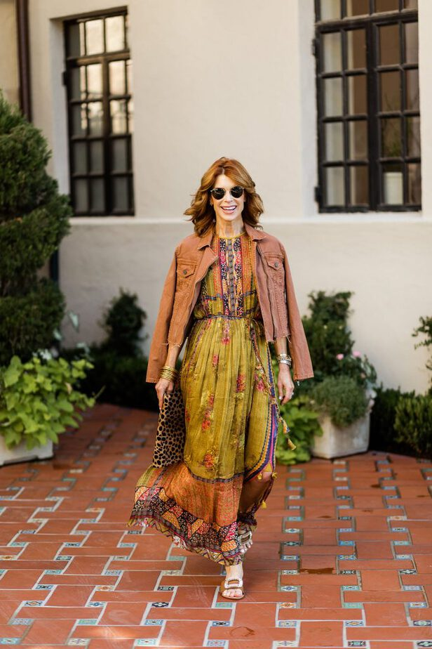 how to wear a Transitional Maxi Dresses