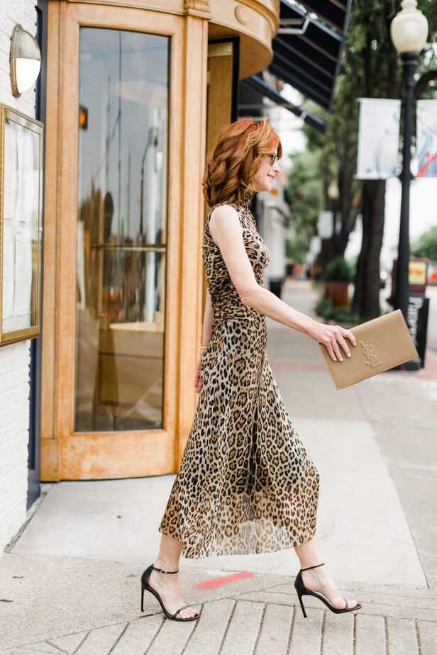 Leopard is My Favorite Color and this Fuzzi Dress Proves Why