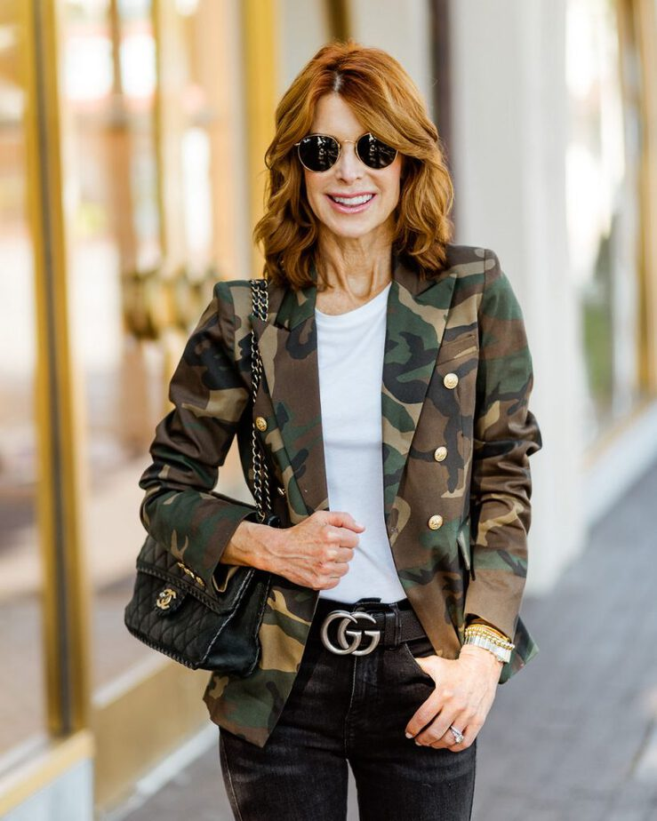 camouflage blazer womens generation love