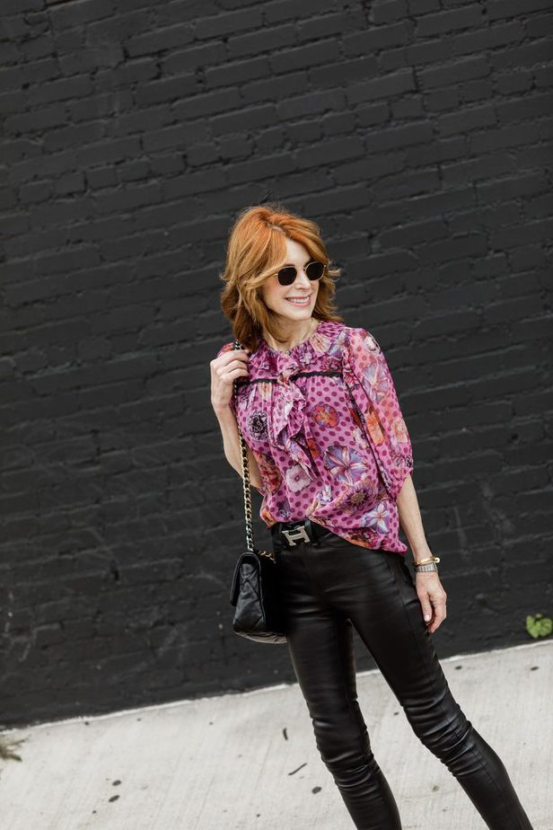 Red Head middle aged Dallas blogger