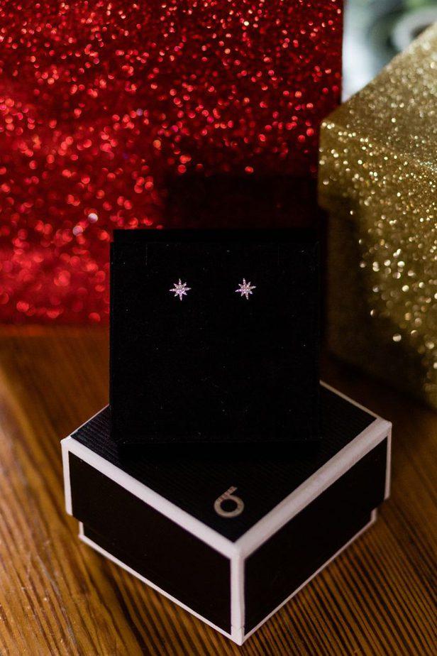 Meira T Diamond Star Earrings from Bloomingdales