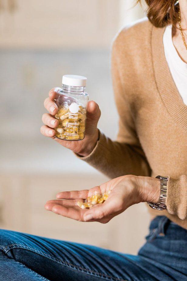 Cathy Williamson Takes Ritual Vitamins