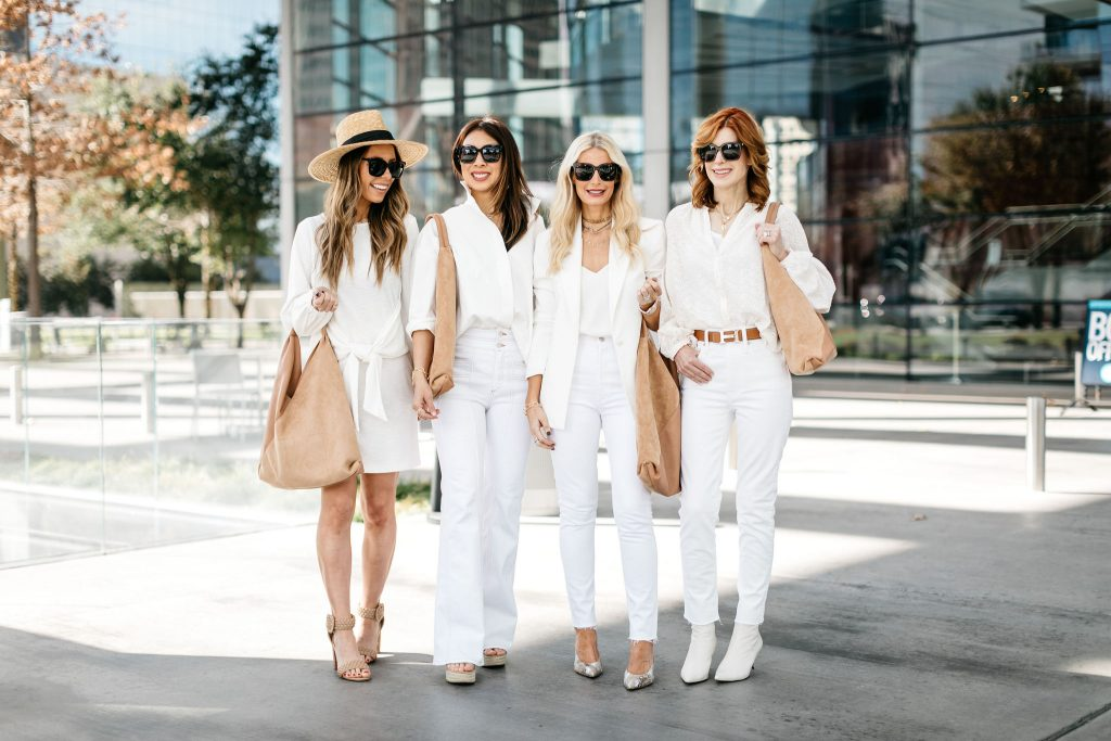 Chic at Every Age Dallas Bloggers wearing Diff Bella Sunglasses from Rachel Zoe Spring 2020 Box of Style