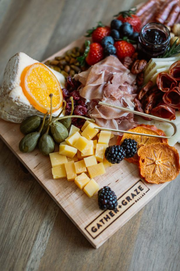 Charcuterie Board from Gather + Graze Dallas