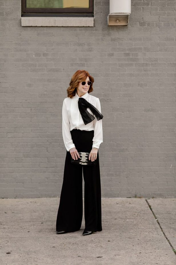 Classic and timeless look outfit from Anne Fontaine