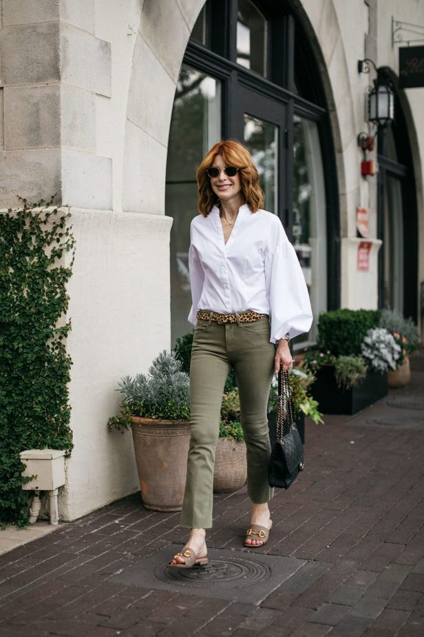 Puffed Sleeves and Green Jeans