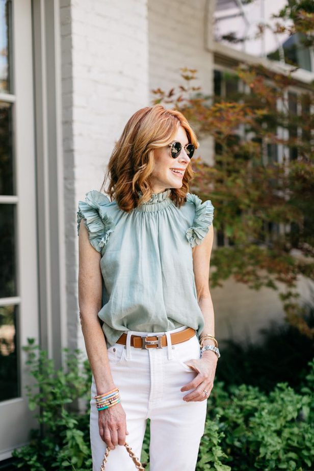 Seafoam Green top