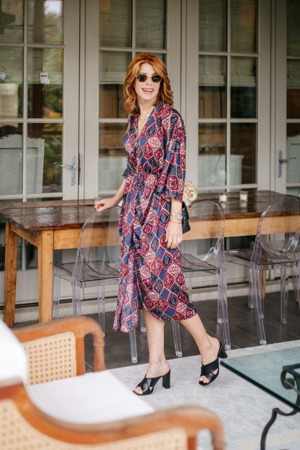 Jewel Tone Dress on the Middle Page Blog