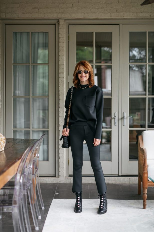 Back in Black Look from Noble 31 on Dallas Blogger